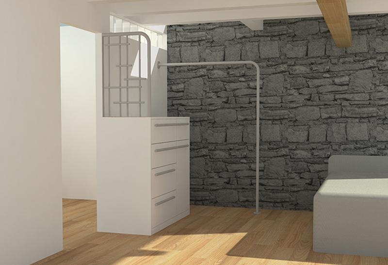 aménagement, sur mesure, lyon, meuble, claustra