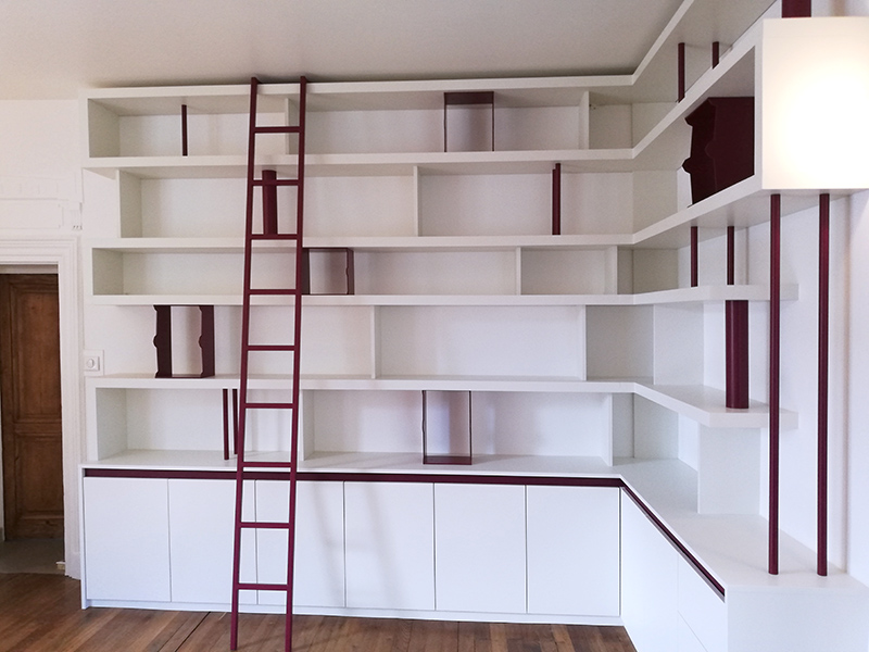 bibliotheque, dressing, agencement, lyon